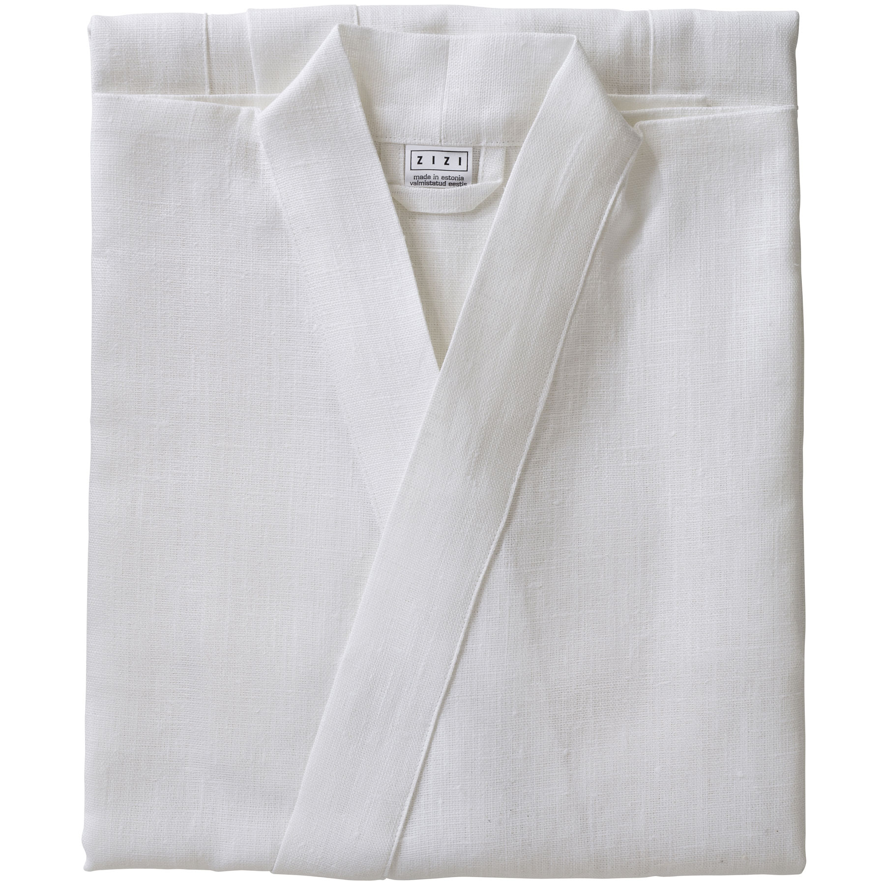 BATHROBE PLAIN <br />white