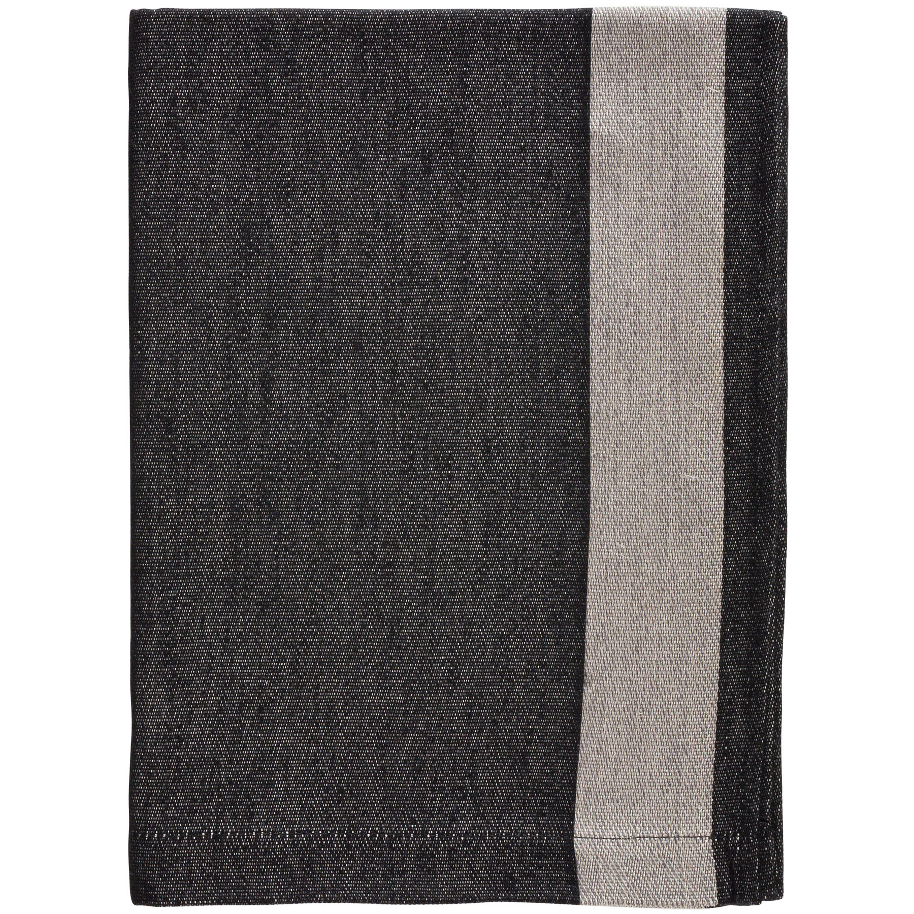 BATH TOWEL HELMUT <br />black / gray