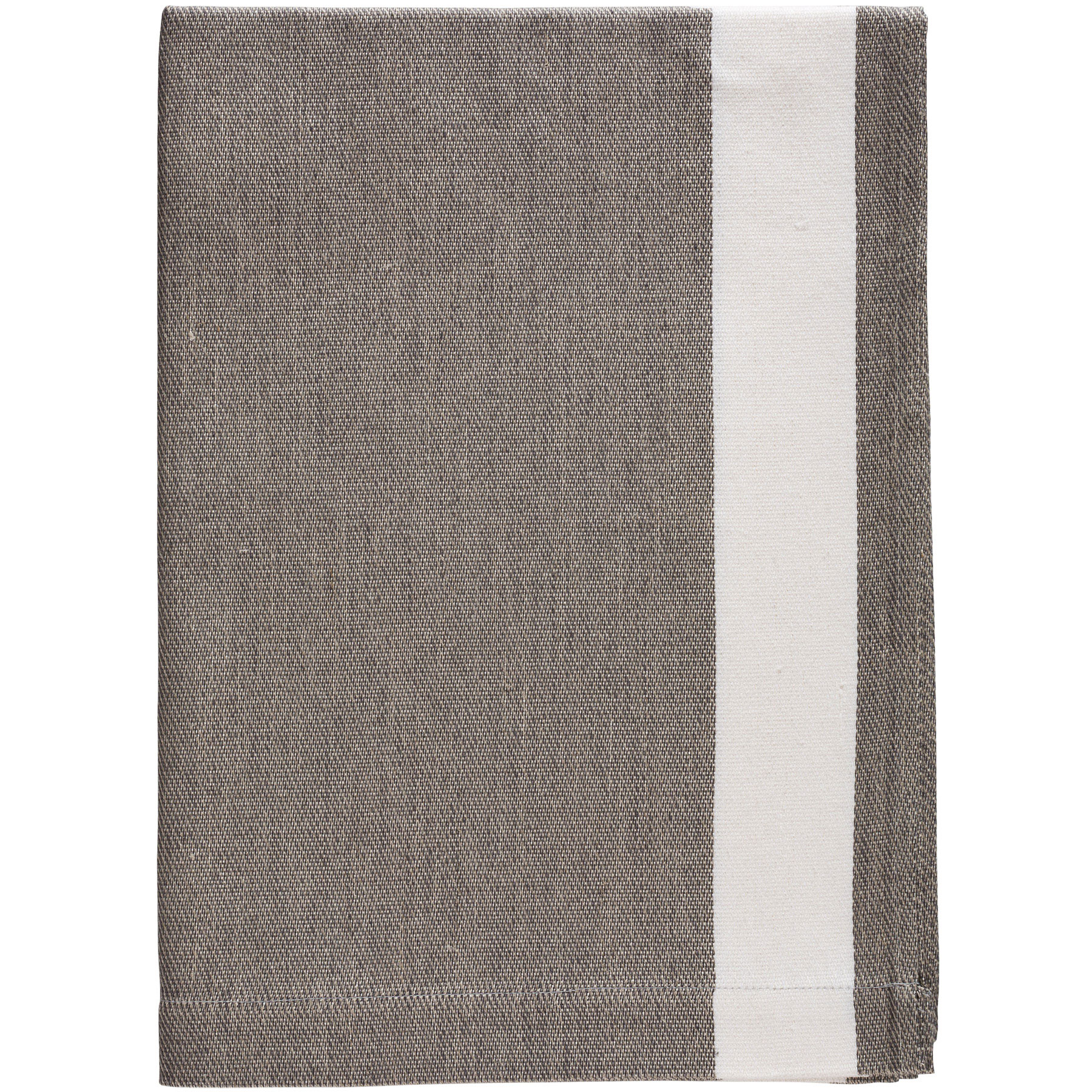 BATH TOWEL HELMUT <br />gray / white