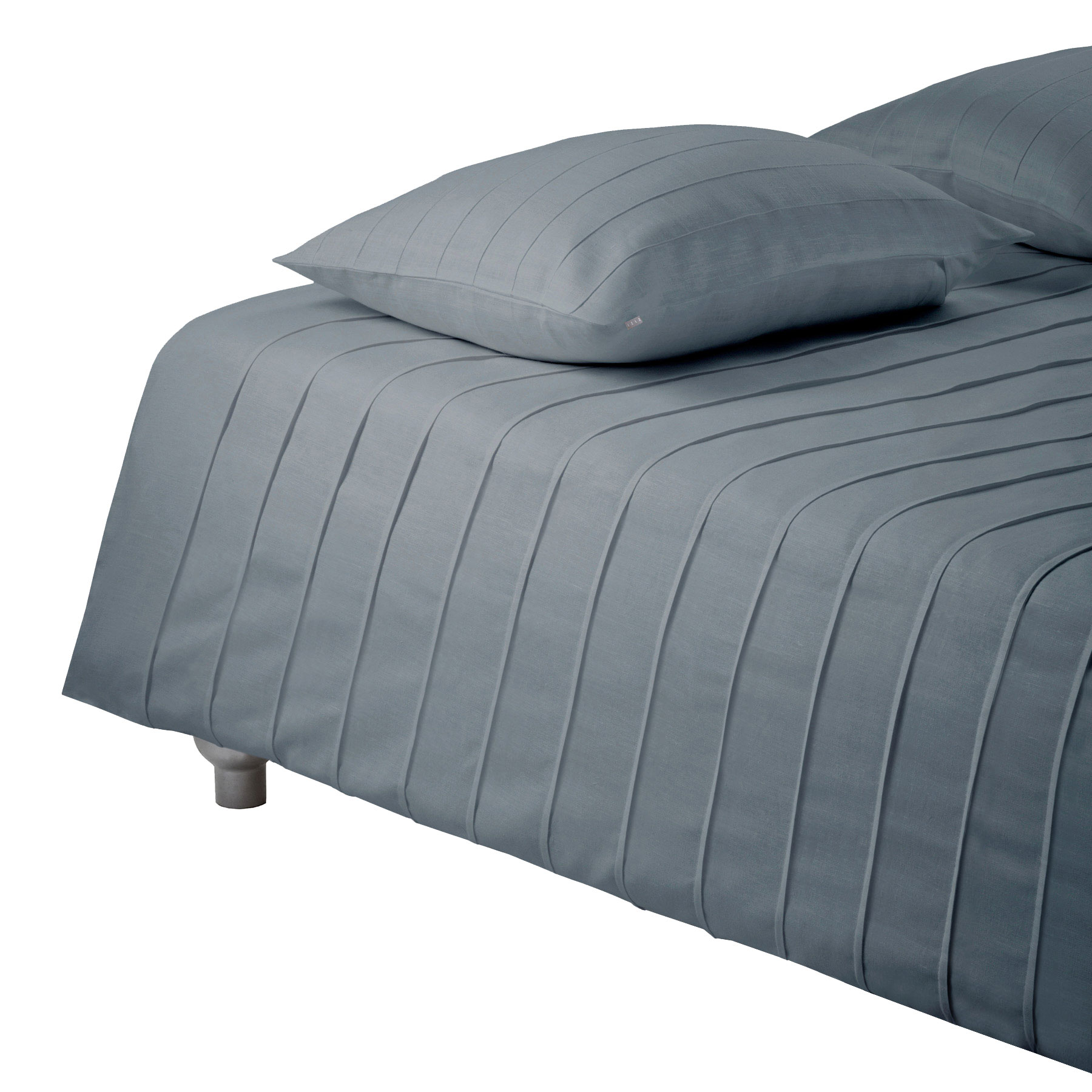 BED COVER IRIS <br />quicksilver gray