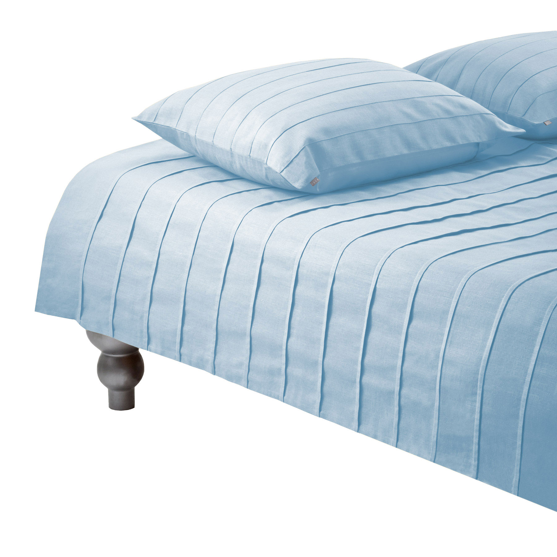 DUVET COVER IRIS <br />light blue
