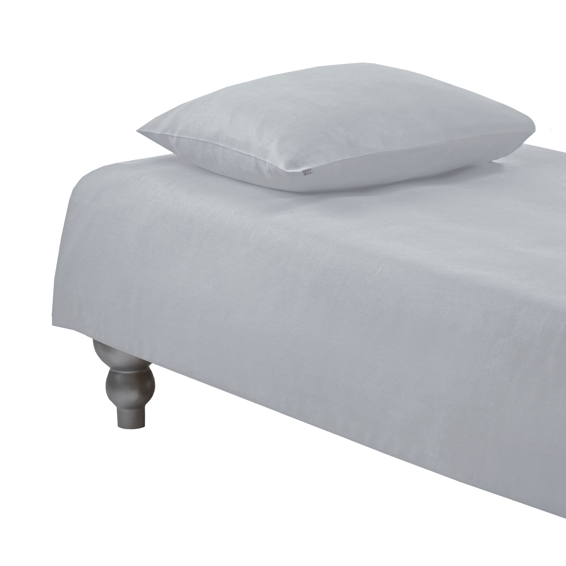 PILLOWCASE PLAIN <br />light gray
