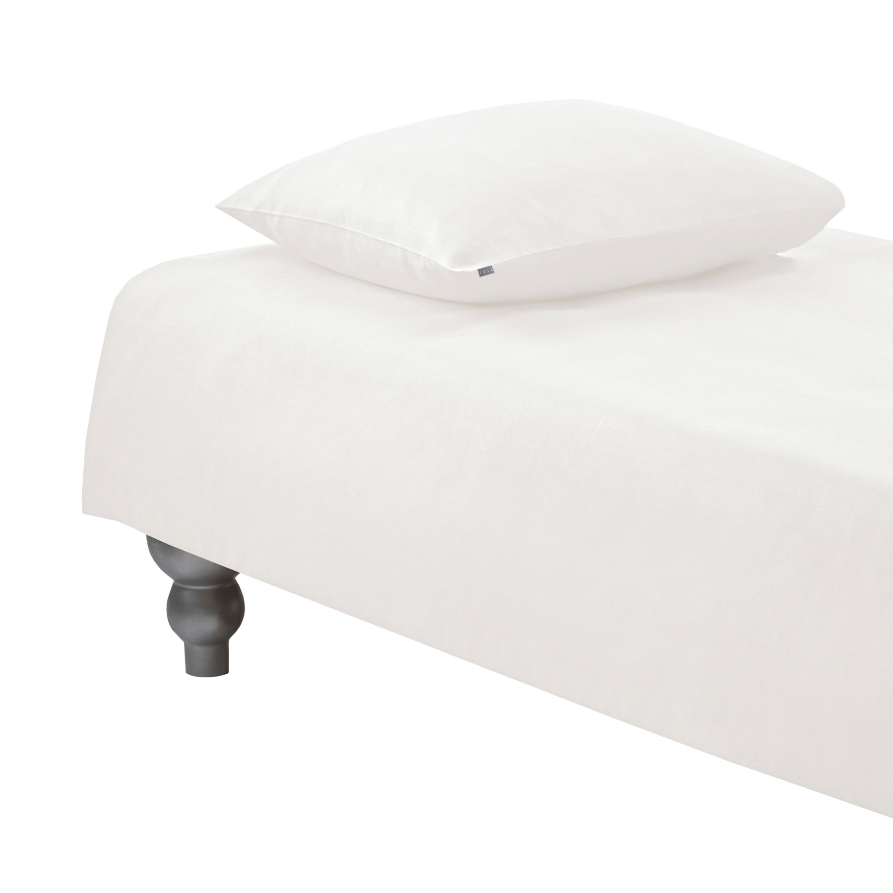 PILLOWCASE PLAIN <br />natural white