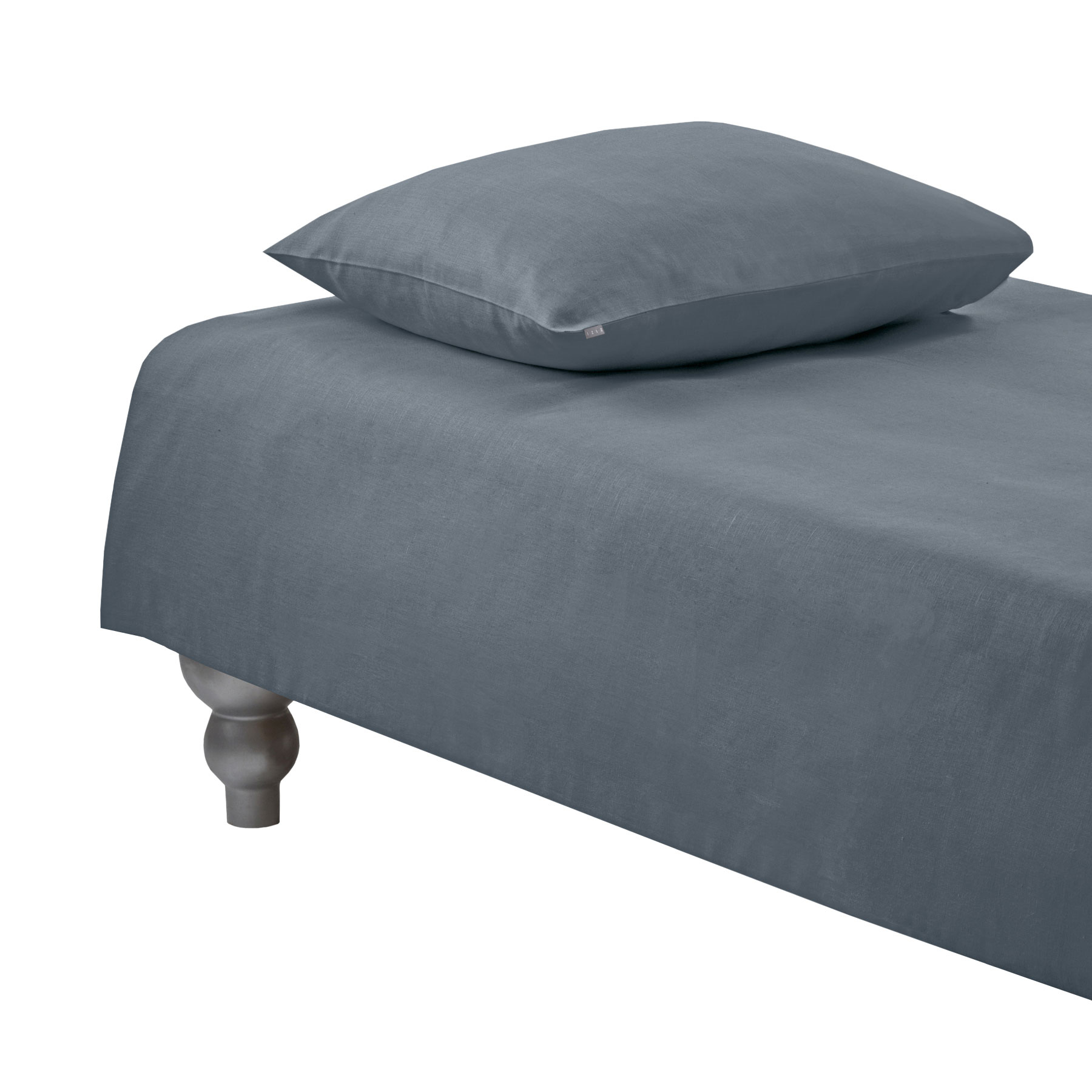 DUVET COVER PLAIN <br/>quicksilver gray