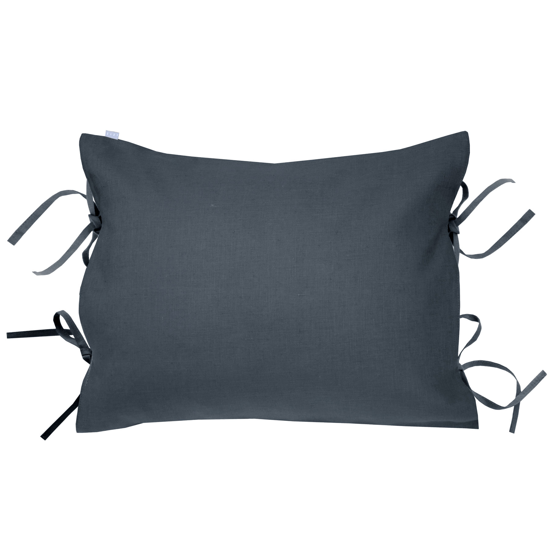 PILLOWCASE OSCAR <br />asphalt gray