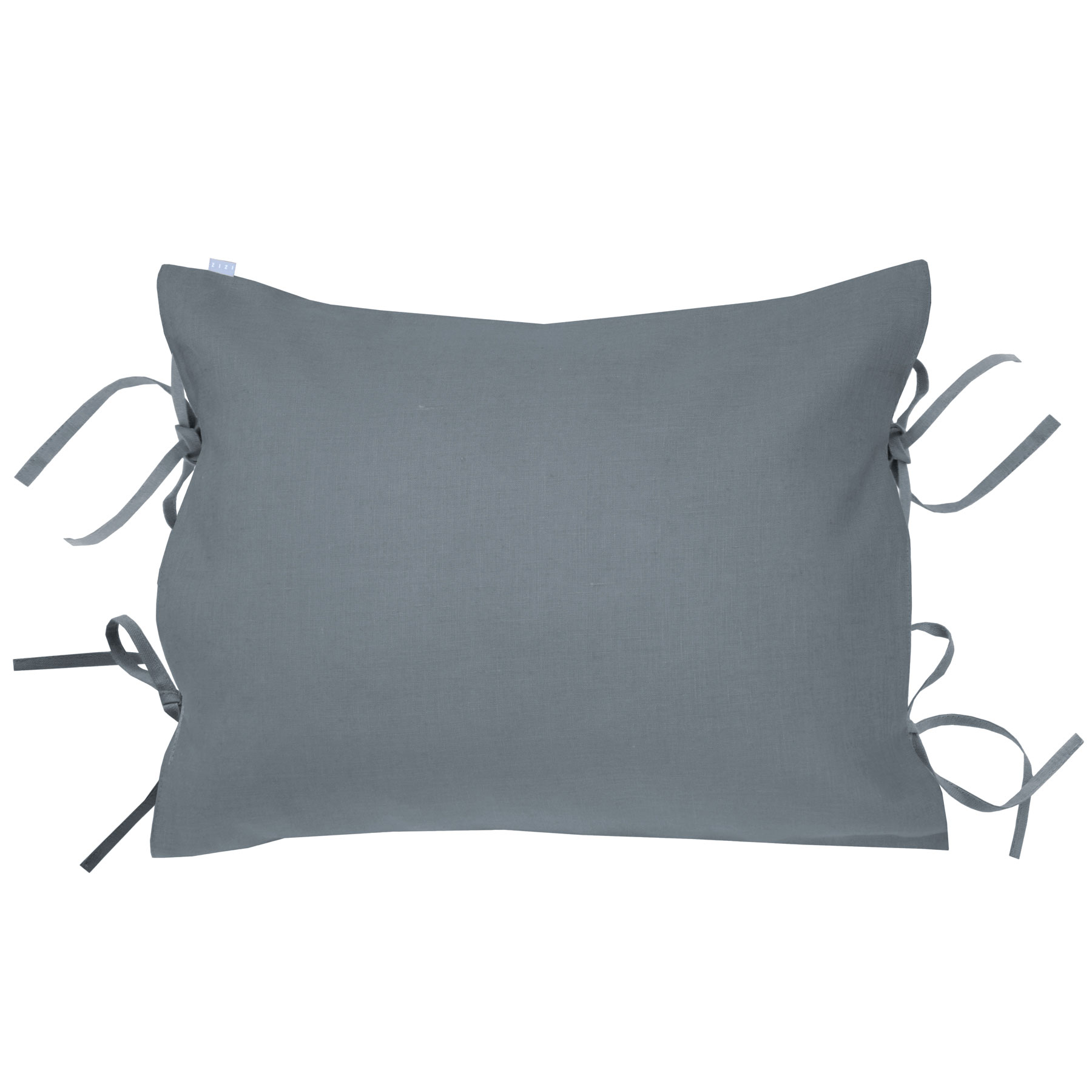 PILLOWCASE OSCAR <br />quicksilver gray
