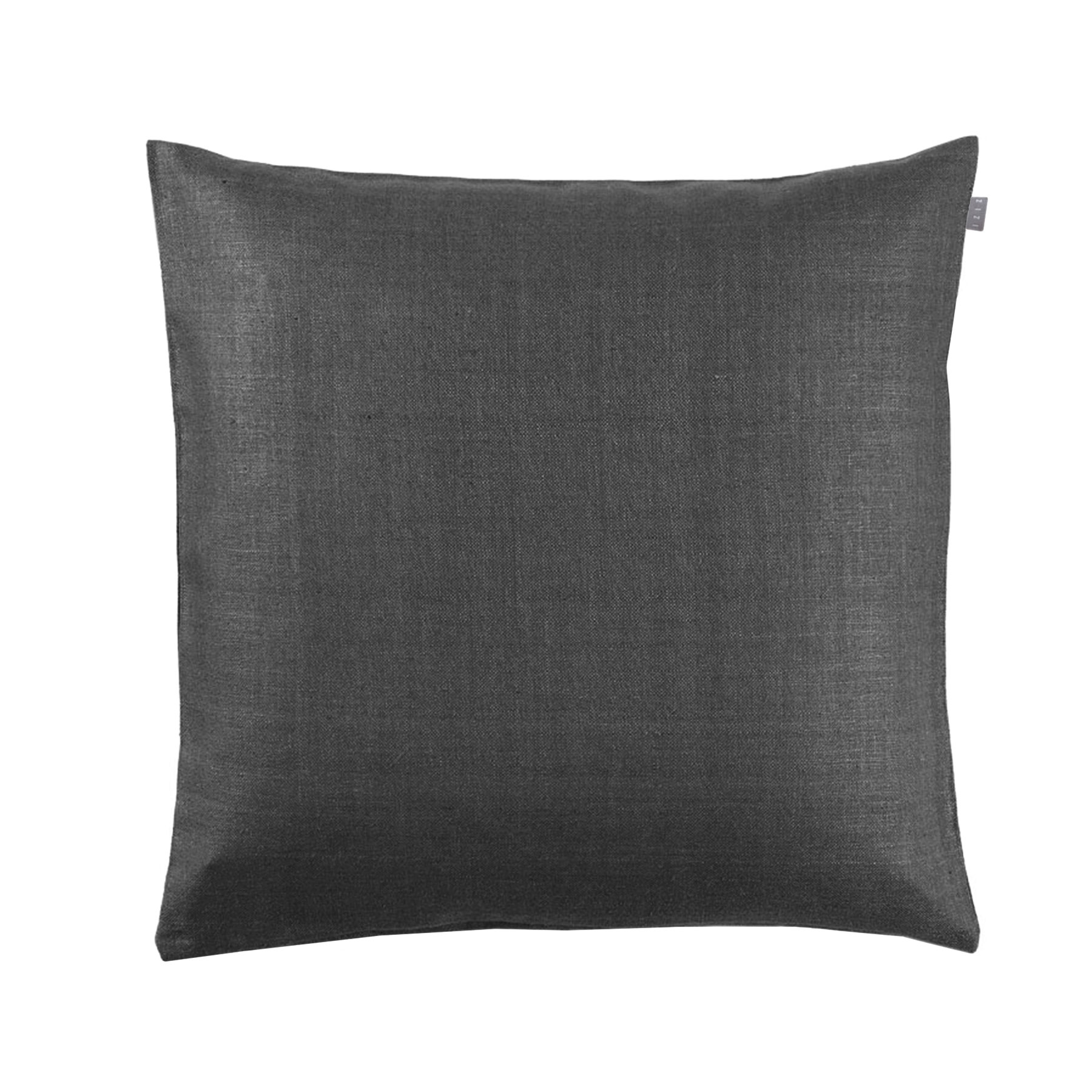 CUSHION COVER PLAIN <br />asphalt gray