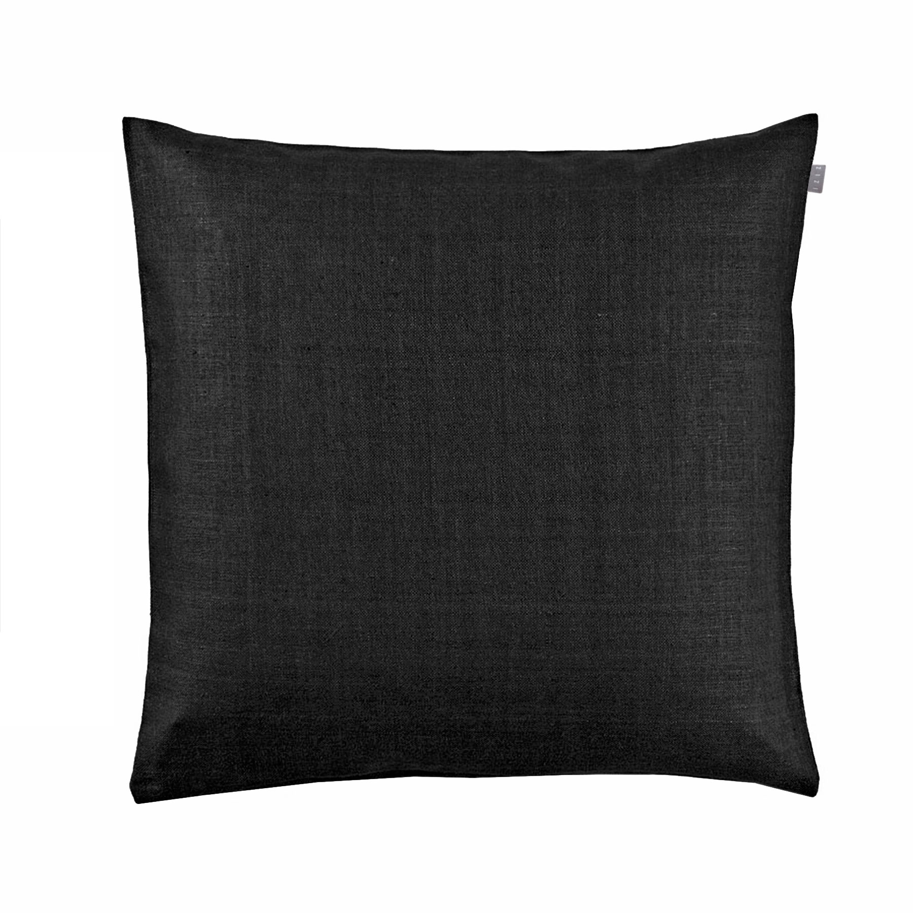 CUSHION COVER PLAIN <br />black