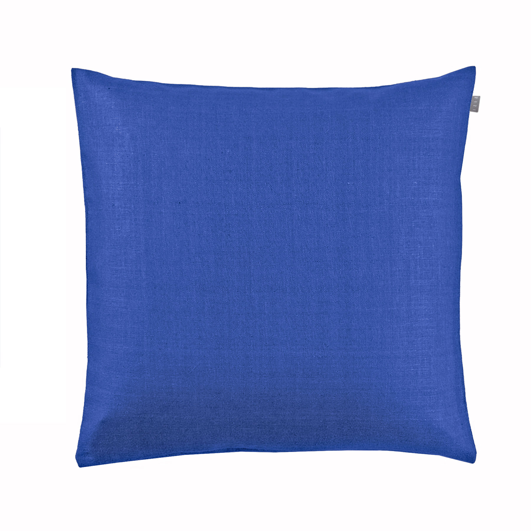 CUSHION COVER PLAIN <br />dazzling blue