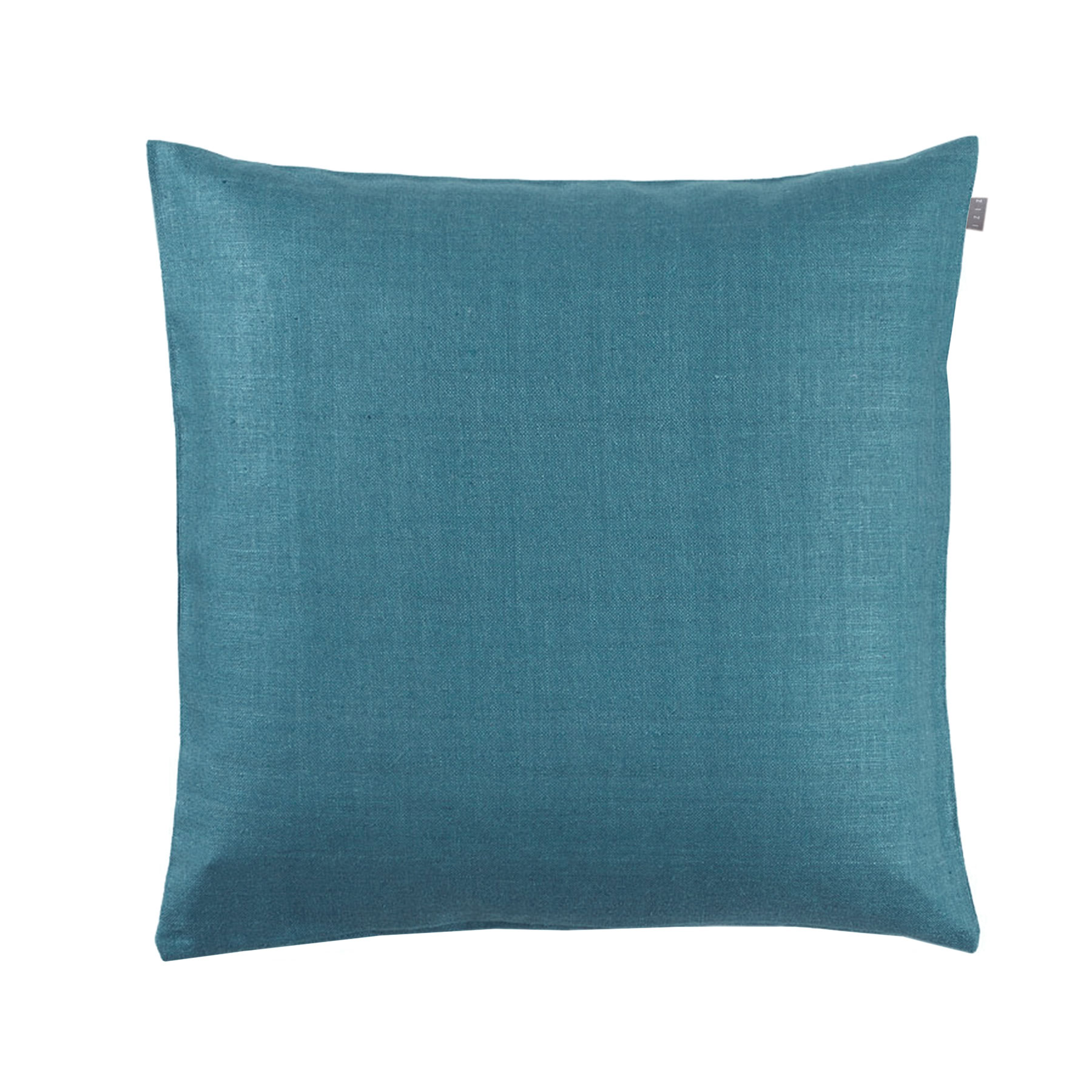 CUSHION COVER PLAIN <br />niagara blue