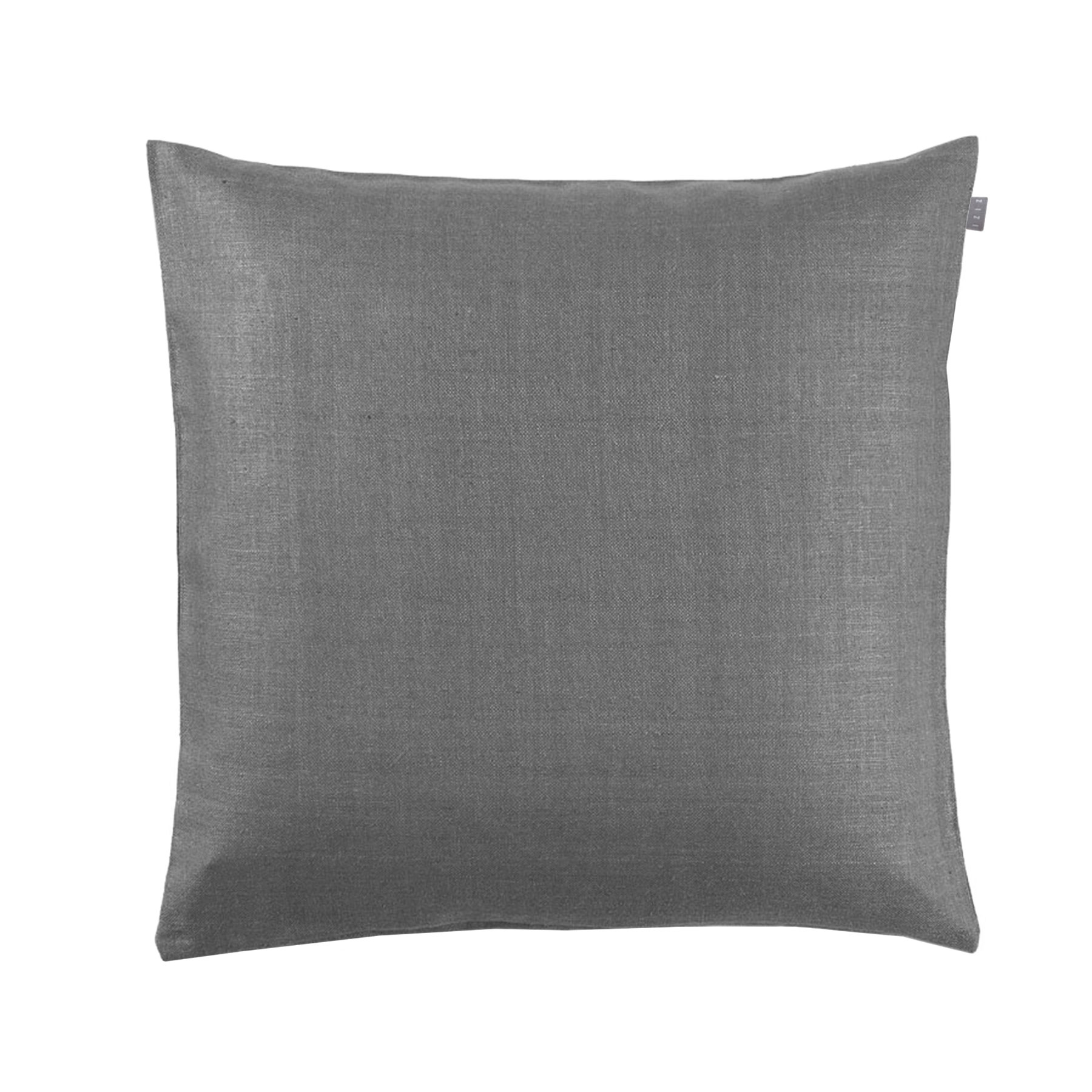 CUSHION COVER PLAIN <br />quicksilver gray