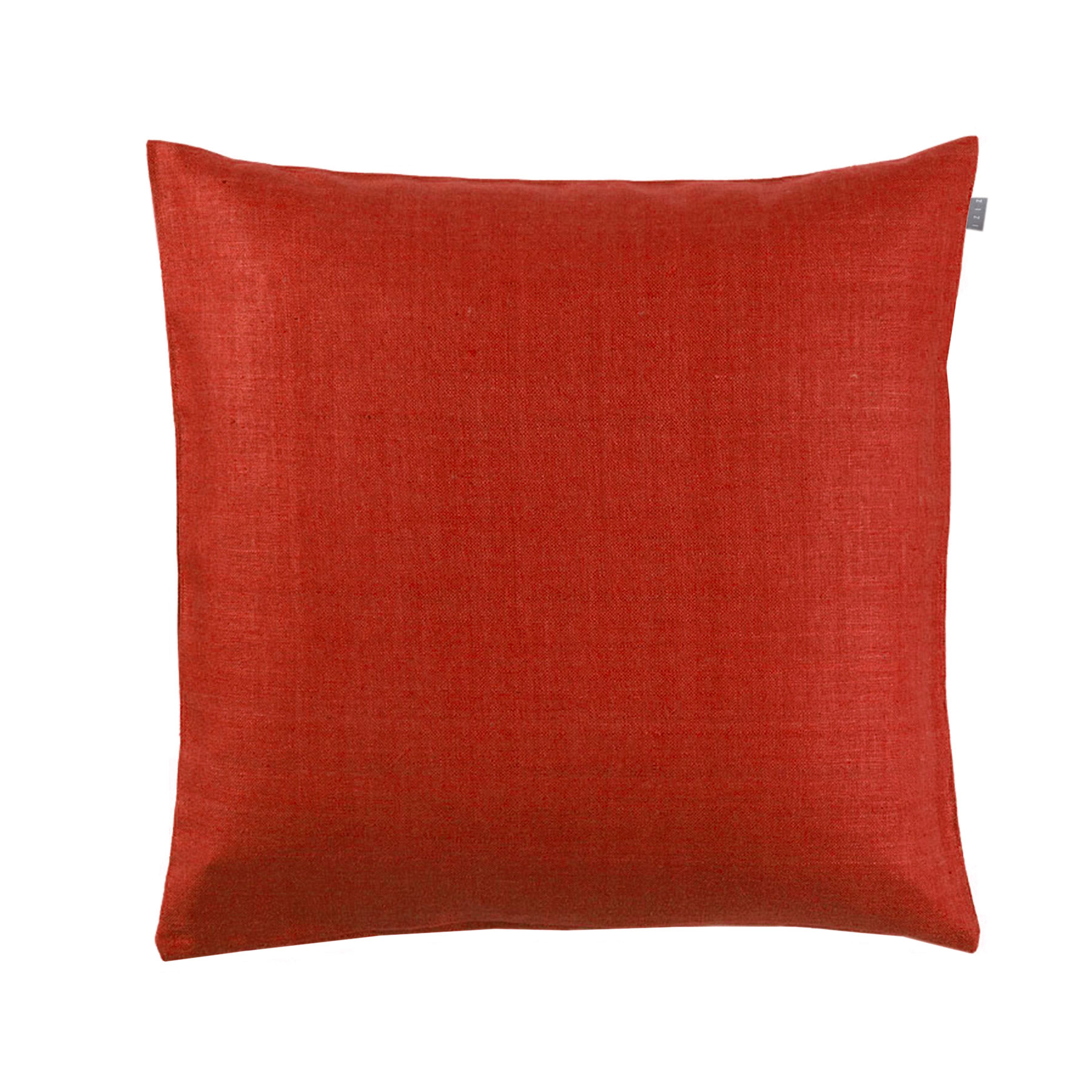 CUSHION COVER PLAIN <br />red