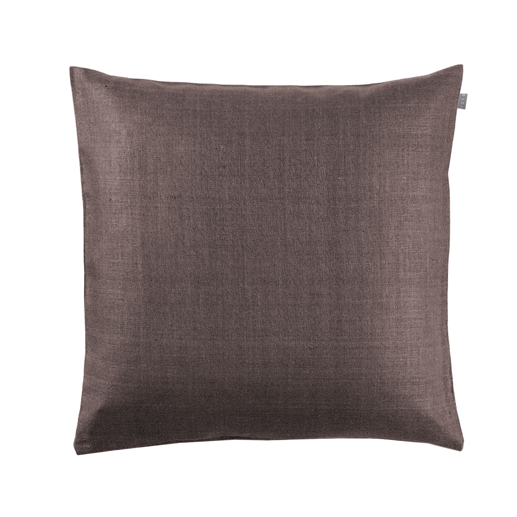 CUSHION COVER PLAIN <br />teak