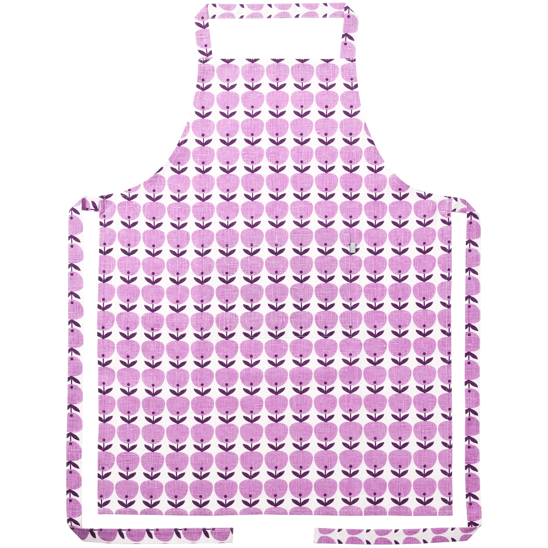 APRON BIG APPLE <br />pink