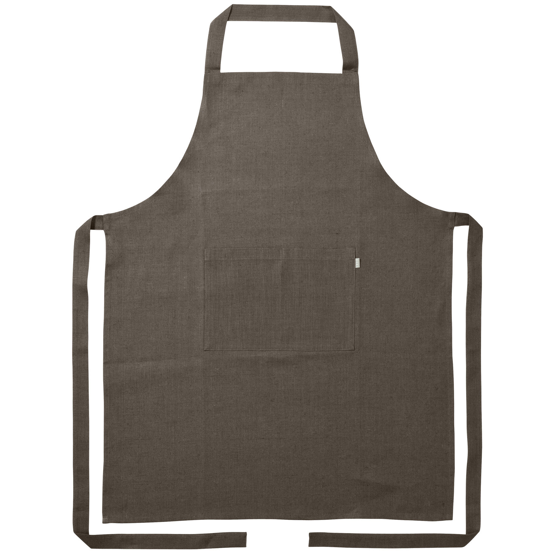 APRON <br />brown