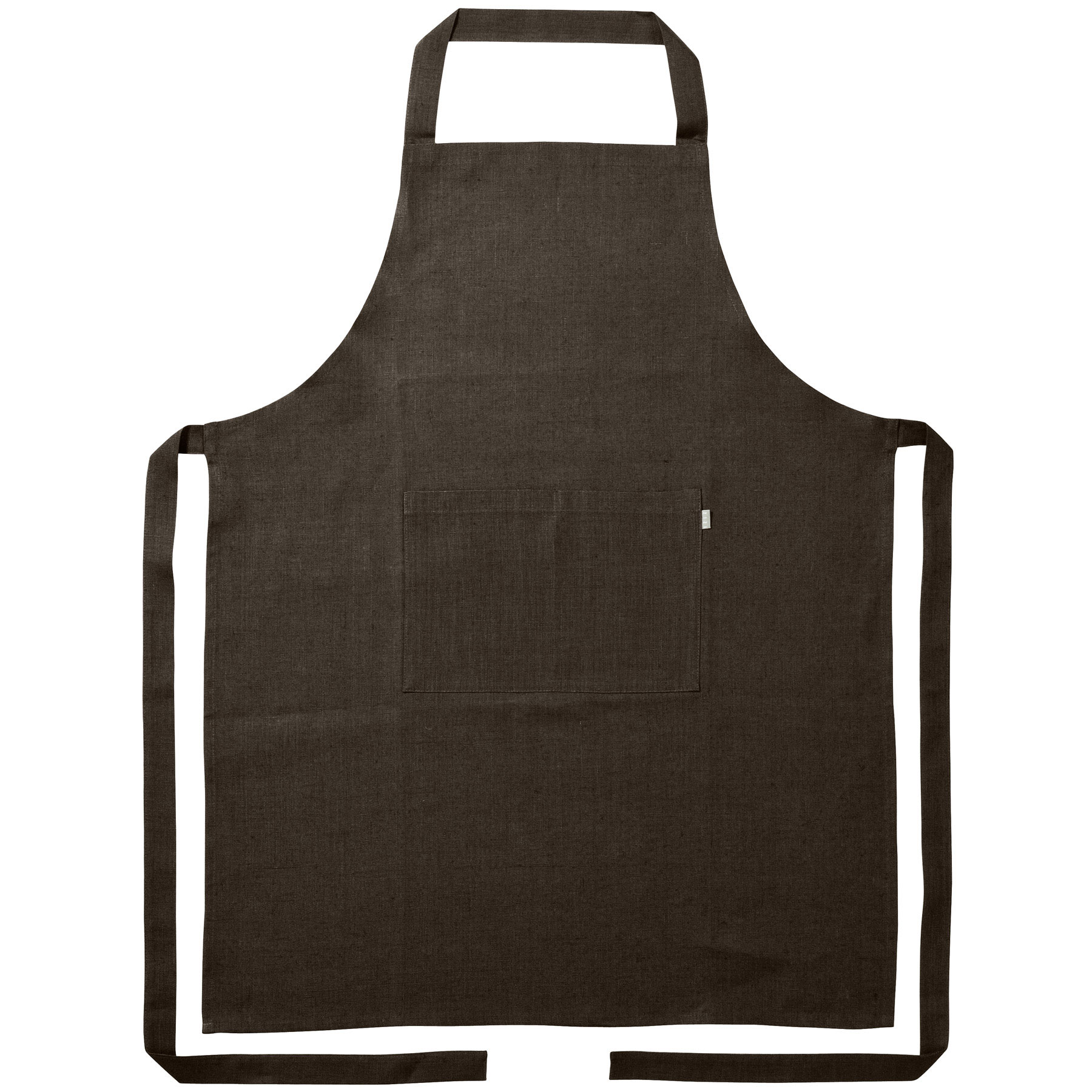 APRON <br />chocolate brown