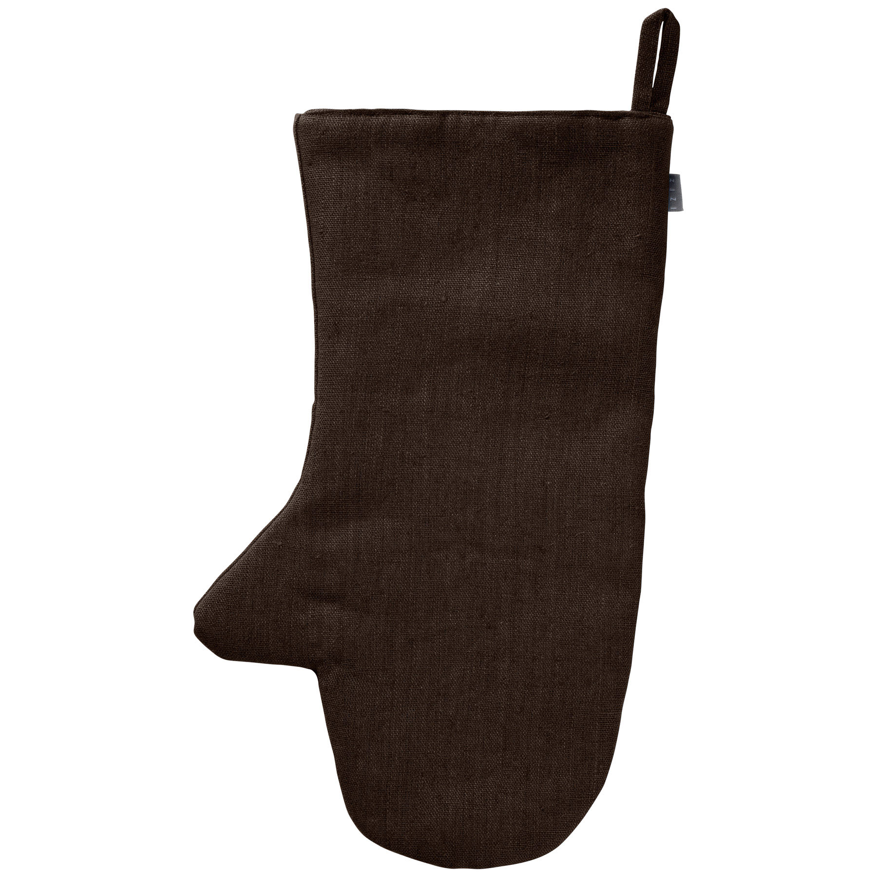 OVEN MITT <br />chocolate brown