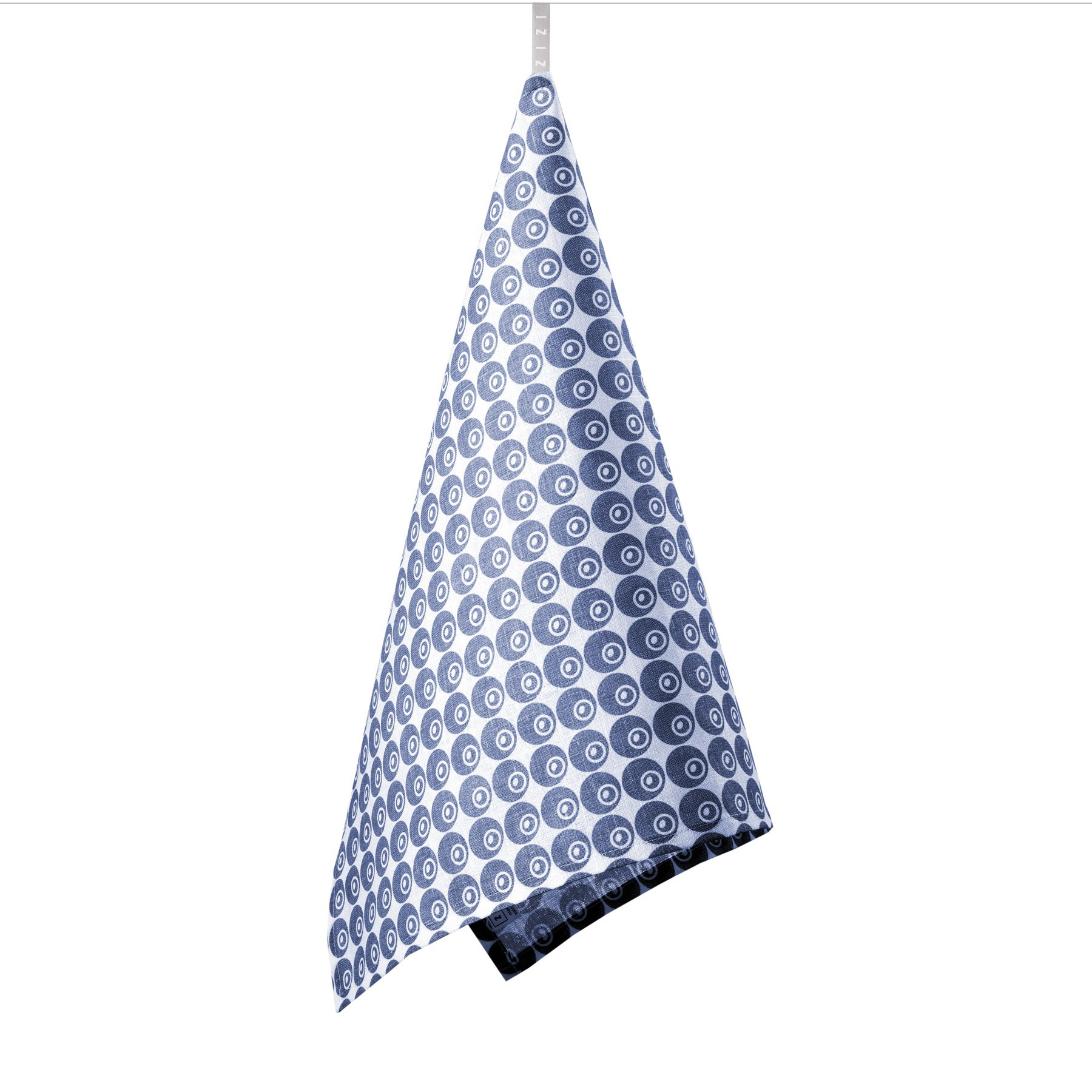TEA TOWEL BERRY <br />blue