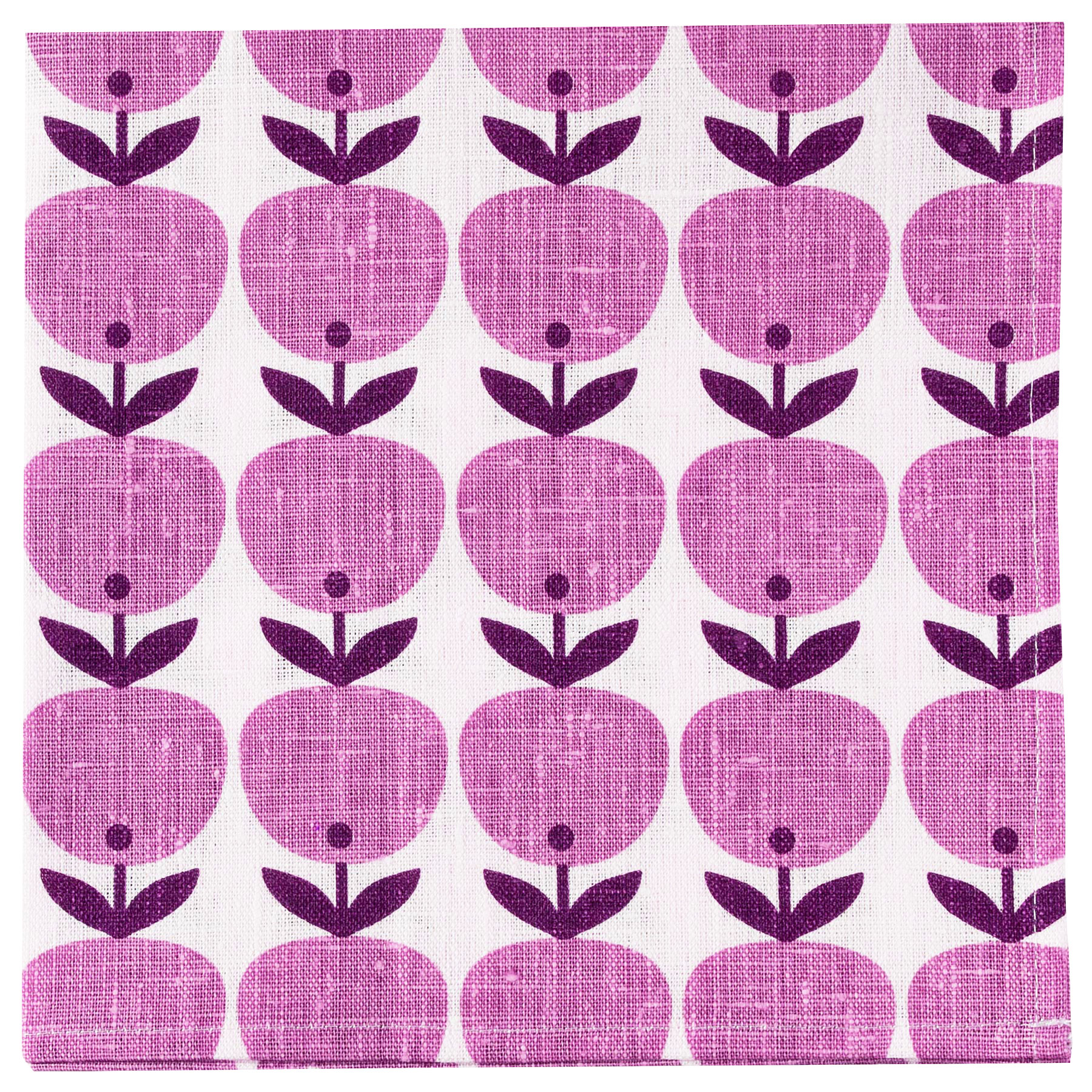 NAPKIN BIG APPLE <br />pink