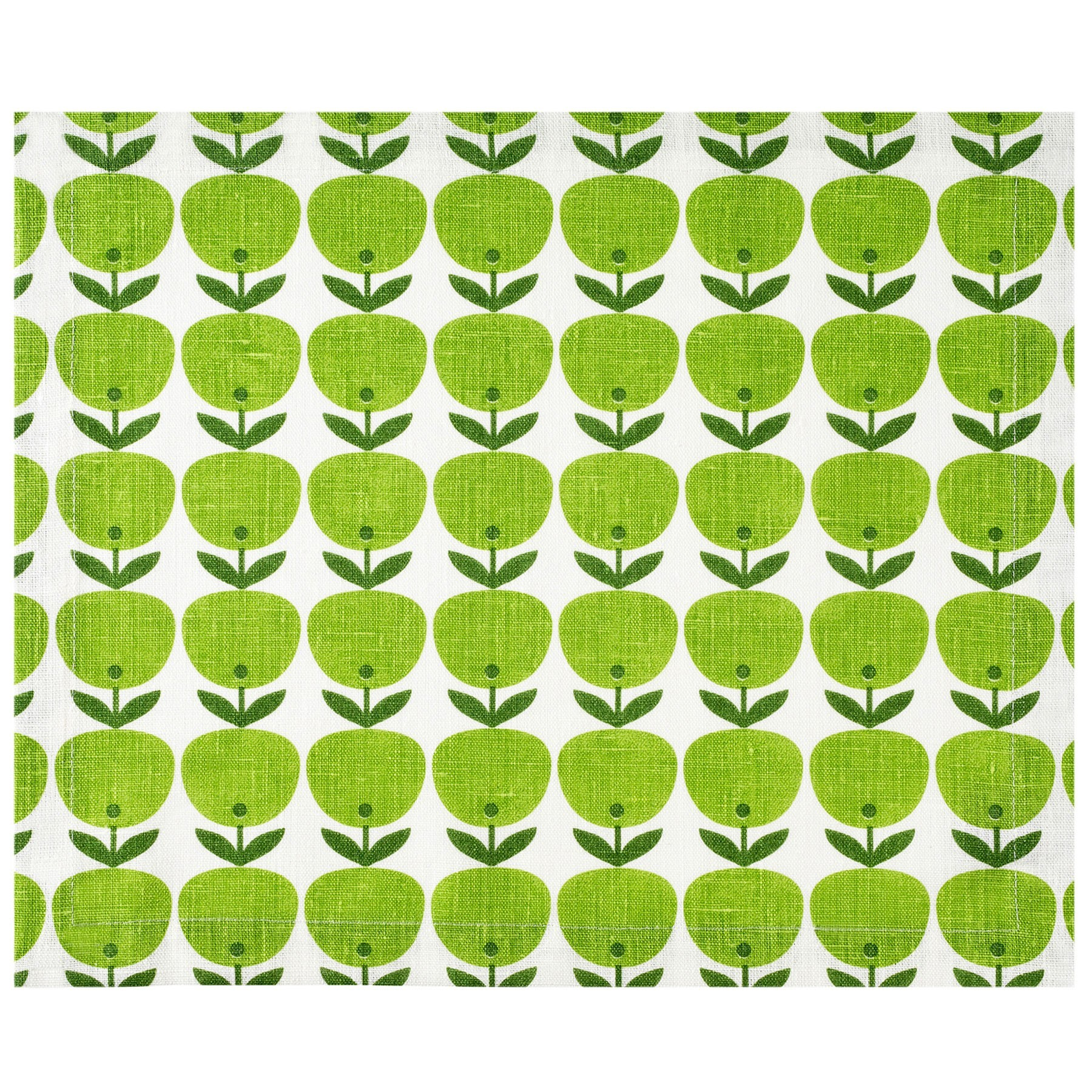 PLACEMAT BIG APPLE <br />green
