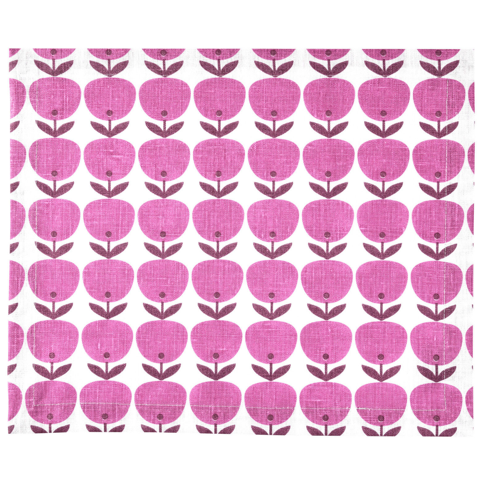 PLACEMAT BIG APPLE <br />pink
