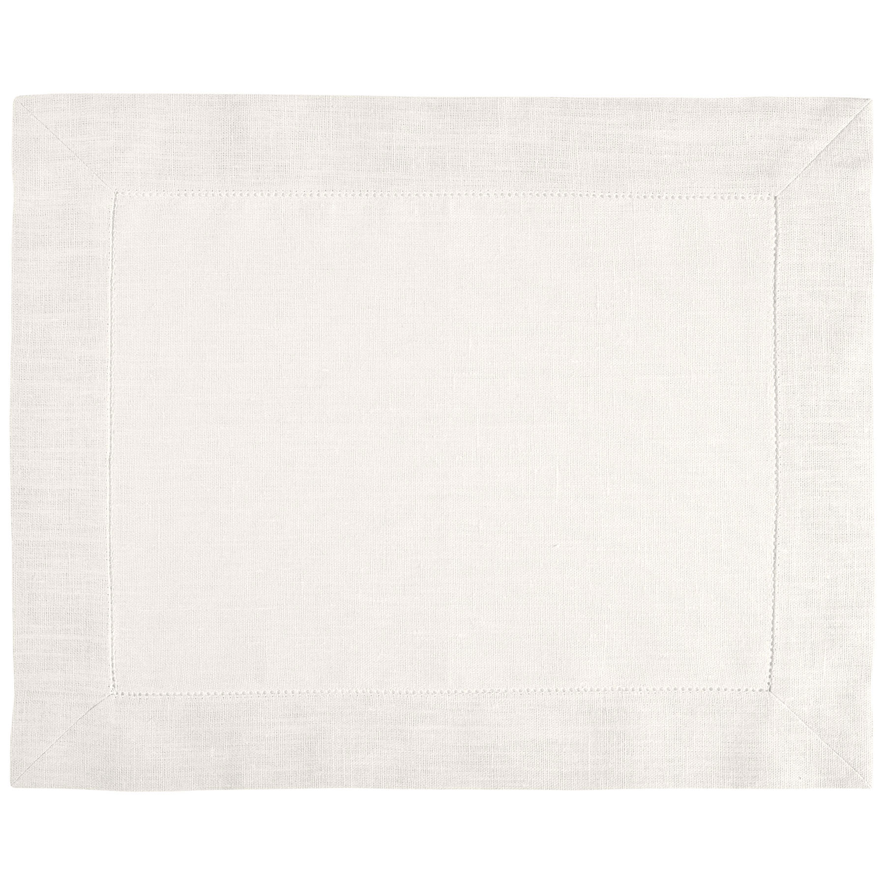 PLACEMAT <br />natural white