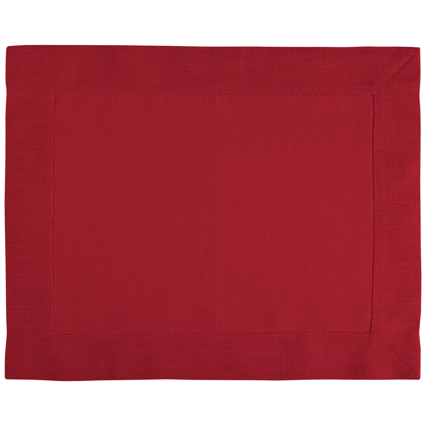 PLACEMAT <br />tango red
