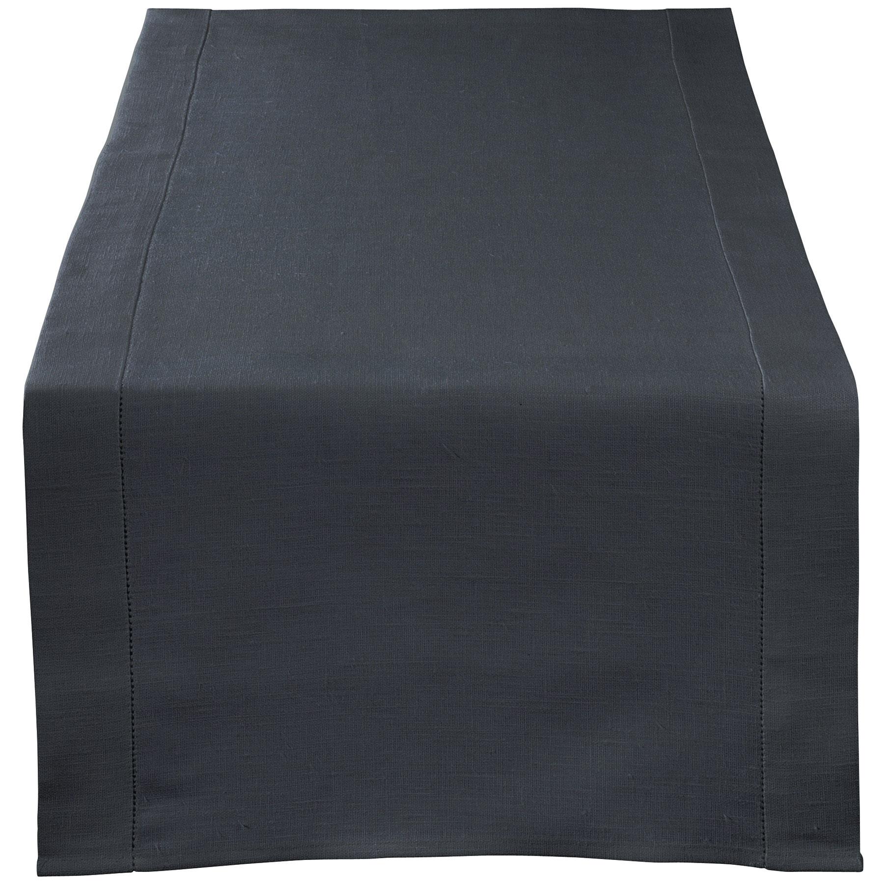 TABLE RUNNER <br />asphalt gray