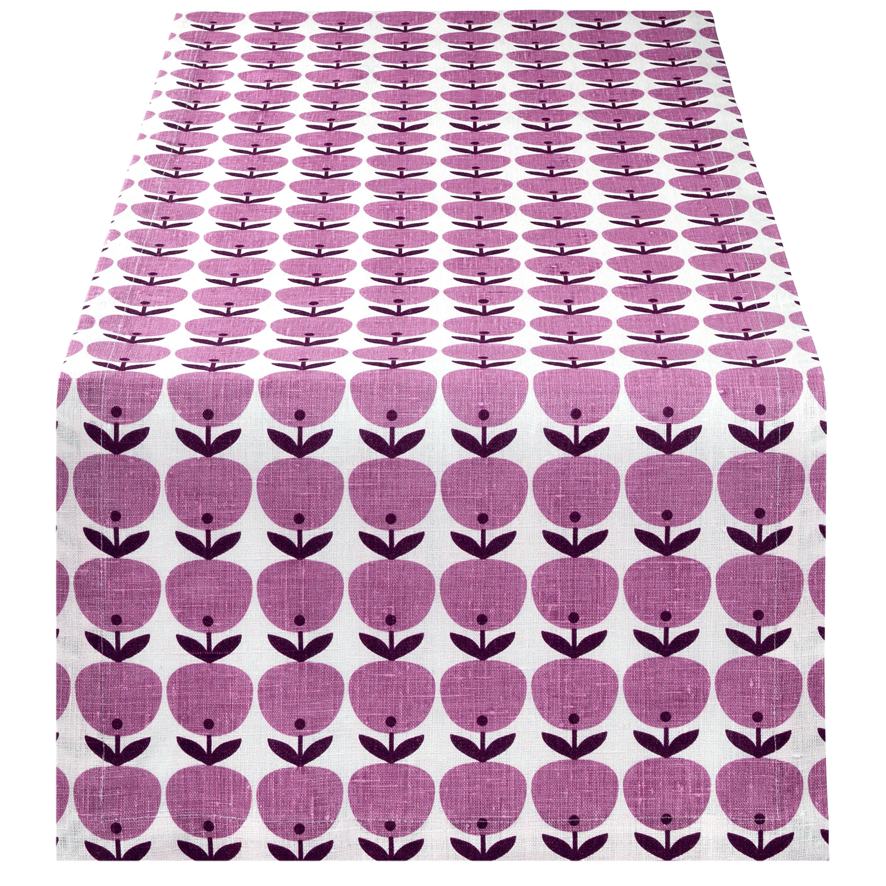 TABLE RUNNER BIG APPLE <br />pink