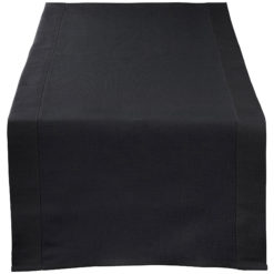 table-table-runner-black