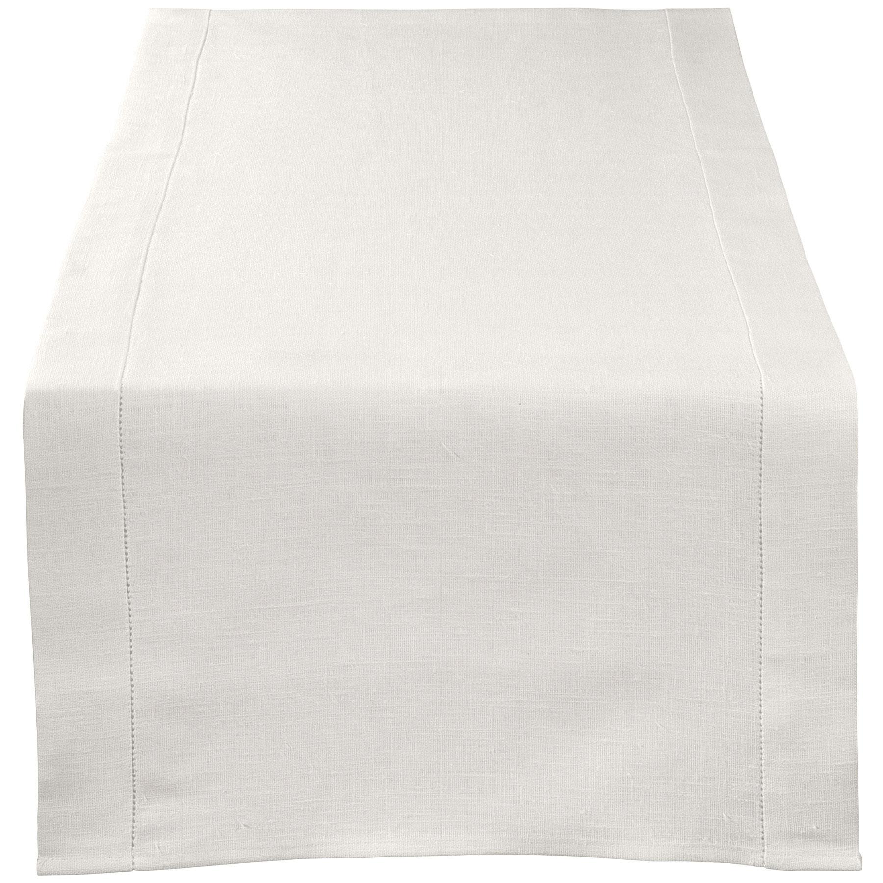 TABLE RUNNER <br />natural white