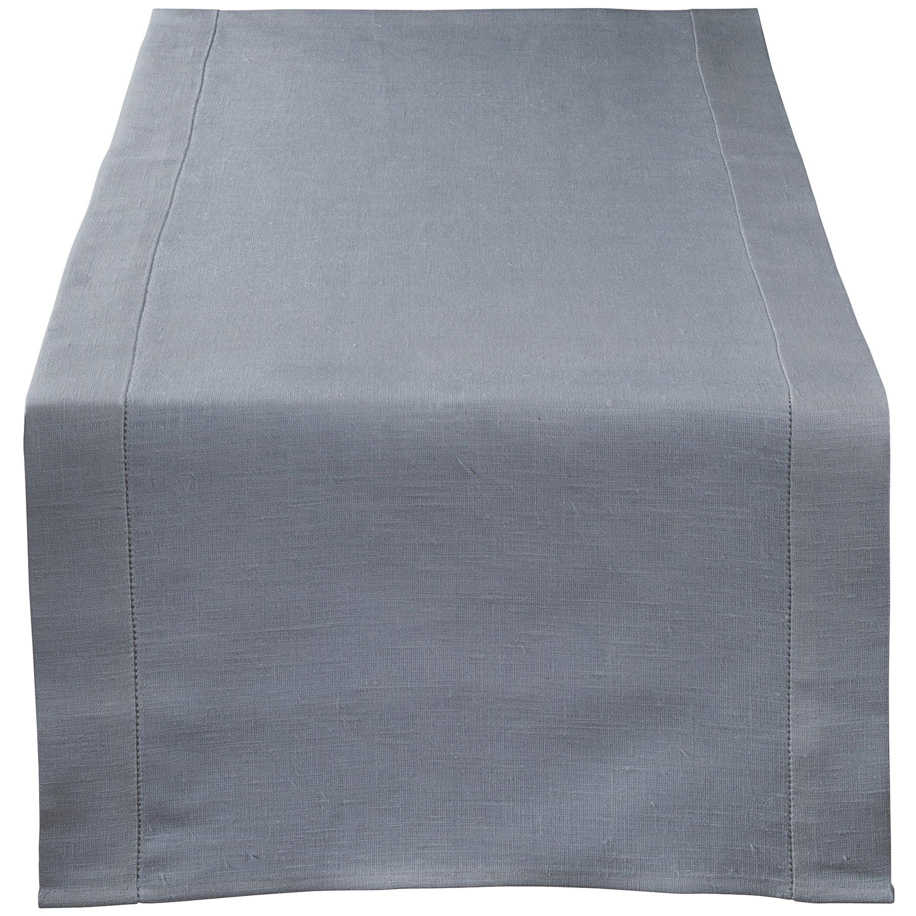 TABLE RUNNER <br />quicksilver gray