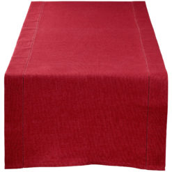 table-table-runner-red