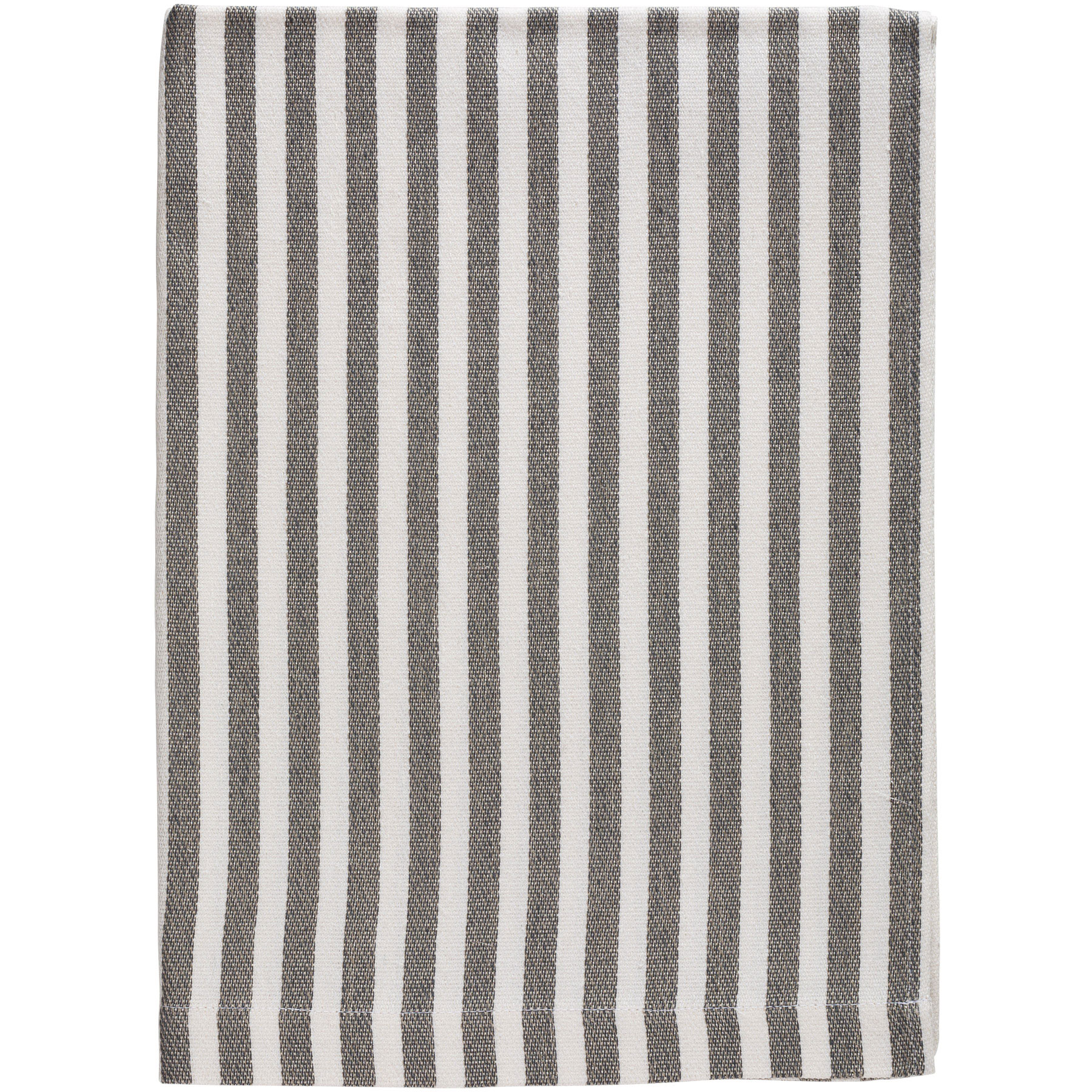 BATH TOWEL STRIPE <br />gray / white