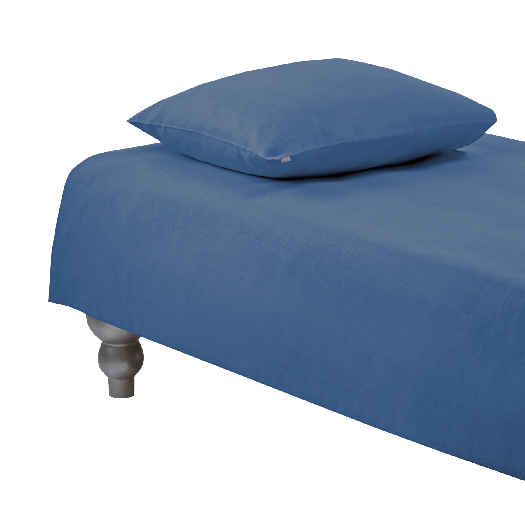 DUVET COVER PLAIN <br />denim blue