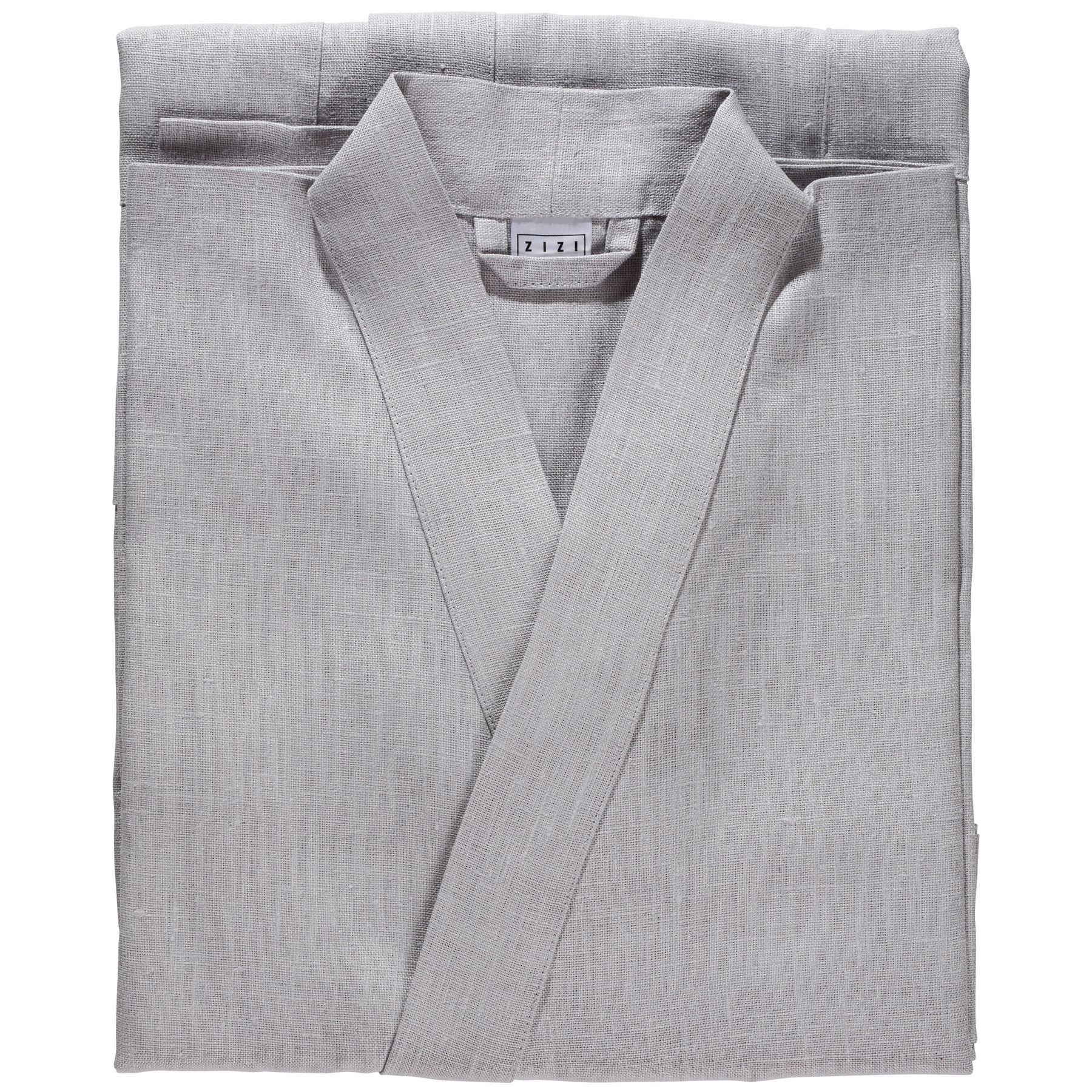 BATHROBE PLAIN <br />light gray