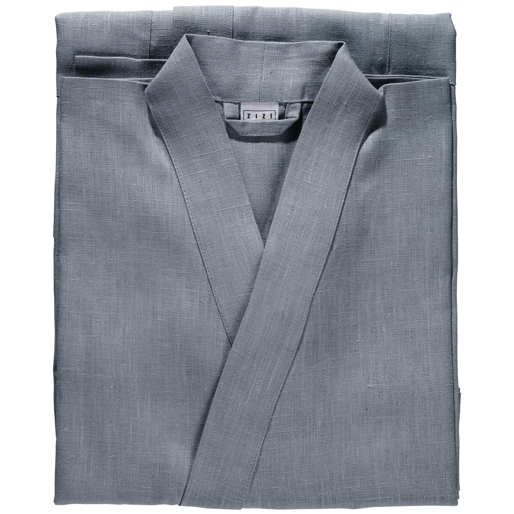 BATHROBE PLAIN <br />quicksilver gray