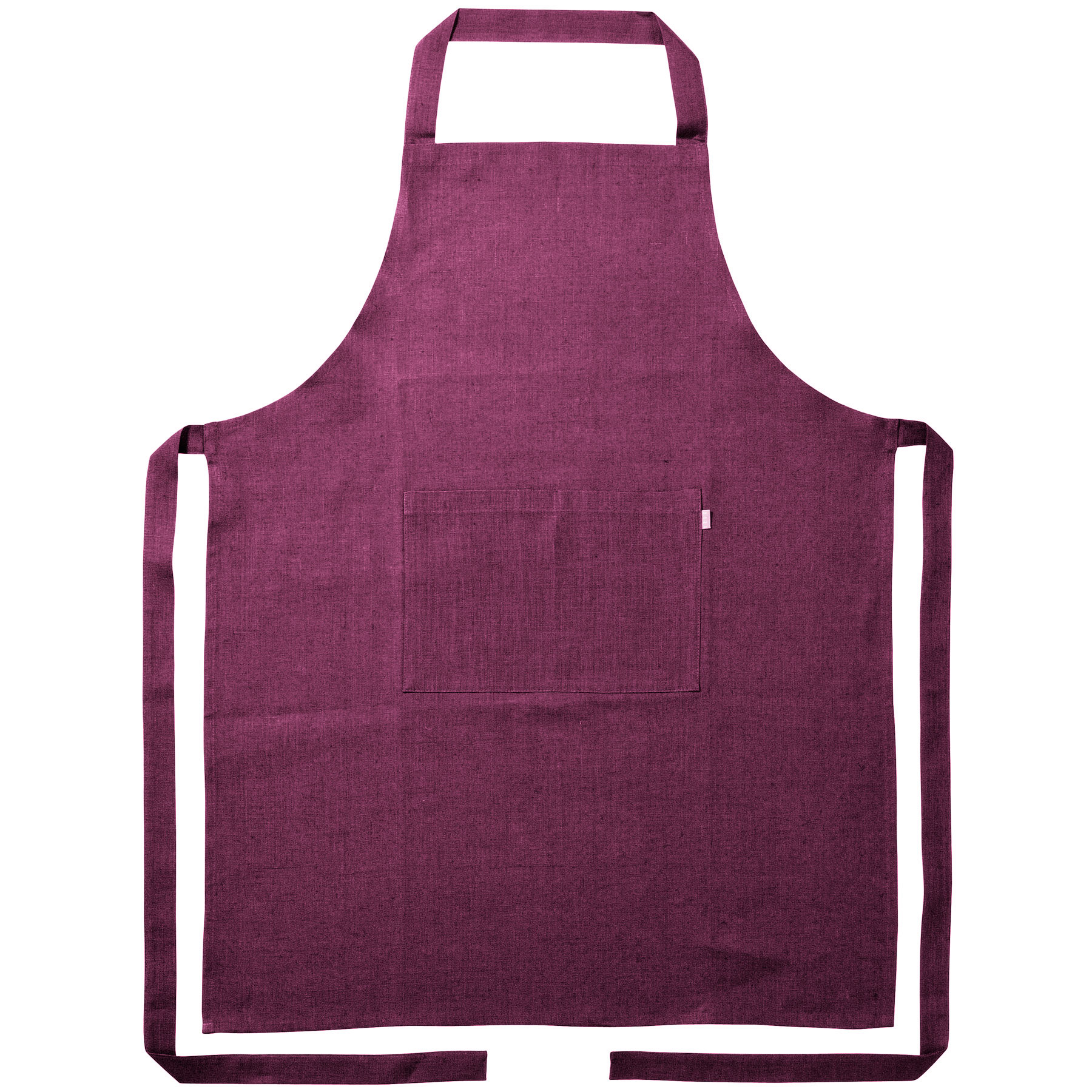 APRON <br />dark purple