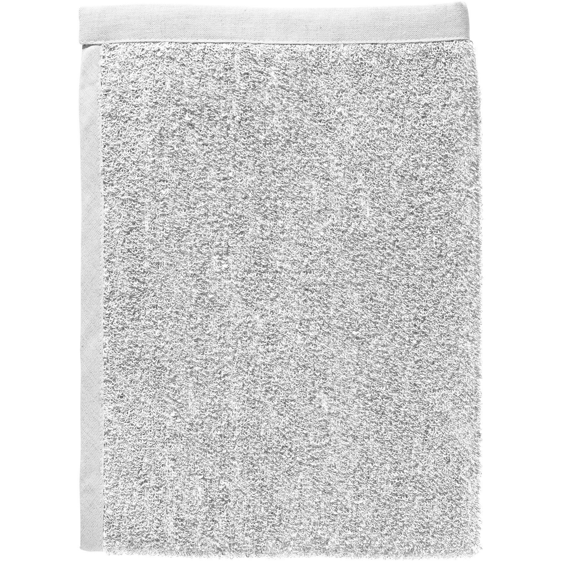 BATH TOWEL TERRY light gray