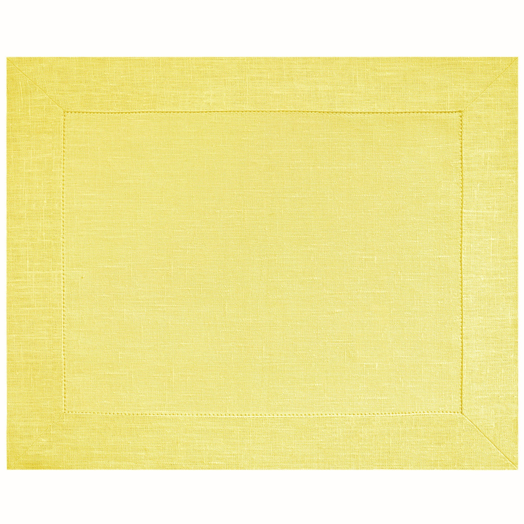 PLACEMAT <br />pastel yellow