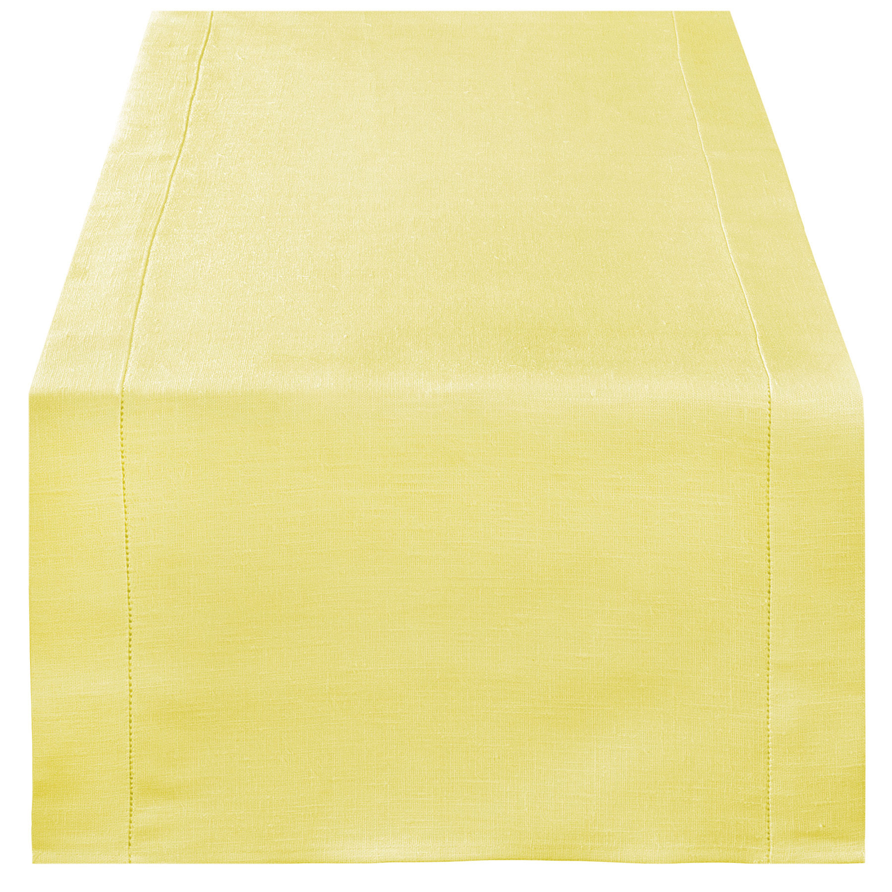 TABLE RUNNER <br />pastel yellow