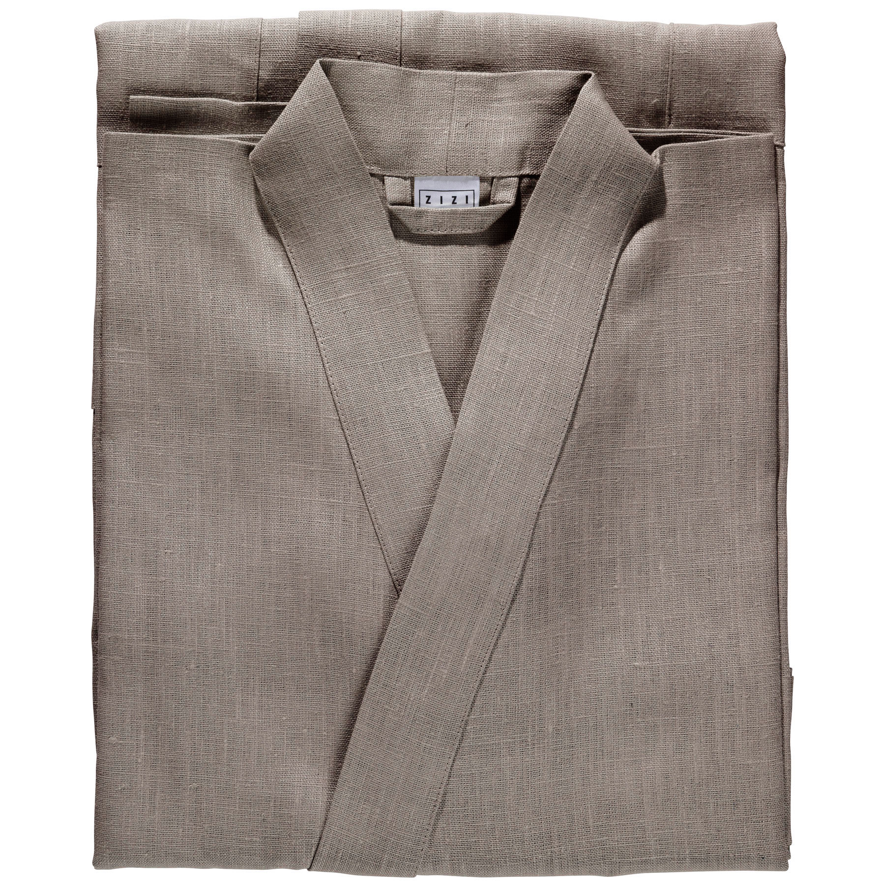 BATHROBE PLAIN <br />taupe