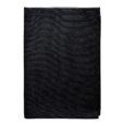 BATH TOWEL WAFFLE –black