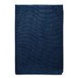 BATH TOWEL WAFFLE –dark blue
