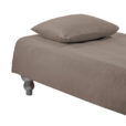 DUVET COVER PLAIN <br />taupe
