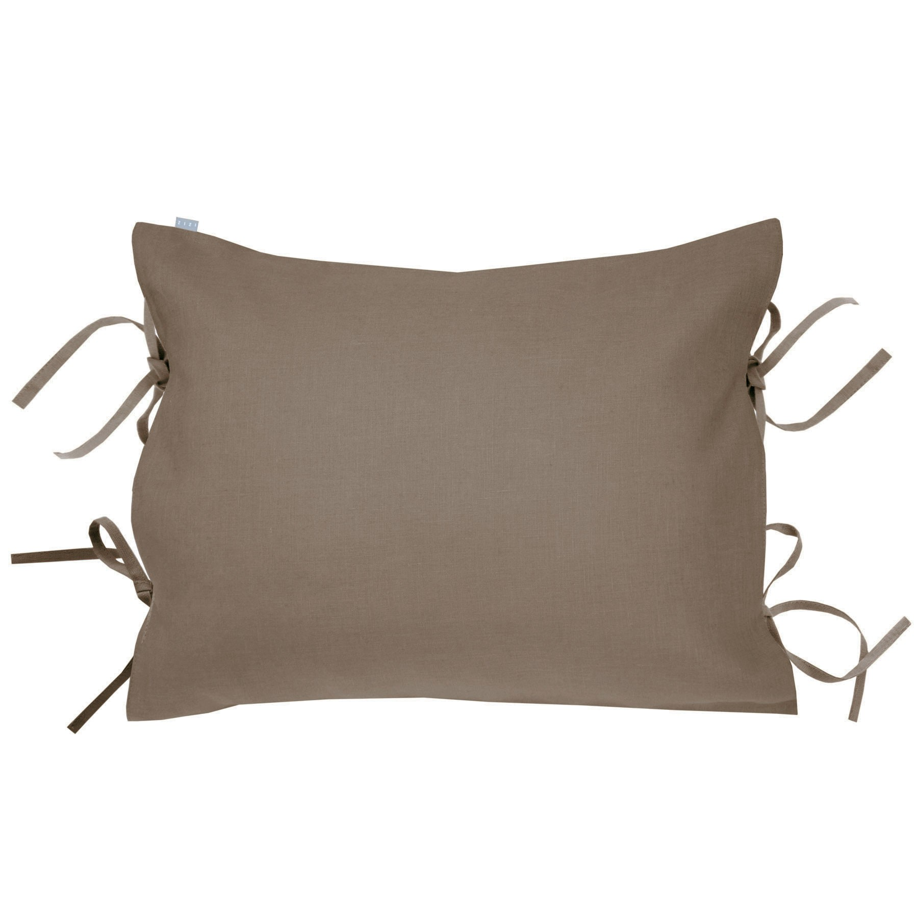 PILLOWCASE OSCAR <br />taupe