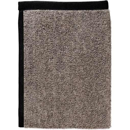 BATH TOWEL TERRY –natural / black