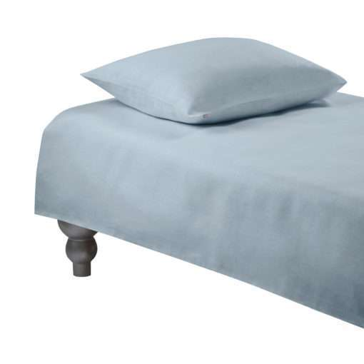 DUVET COVER PLAIN –dusty blue