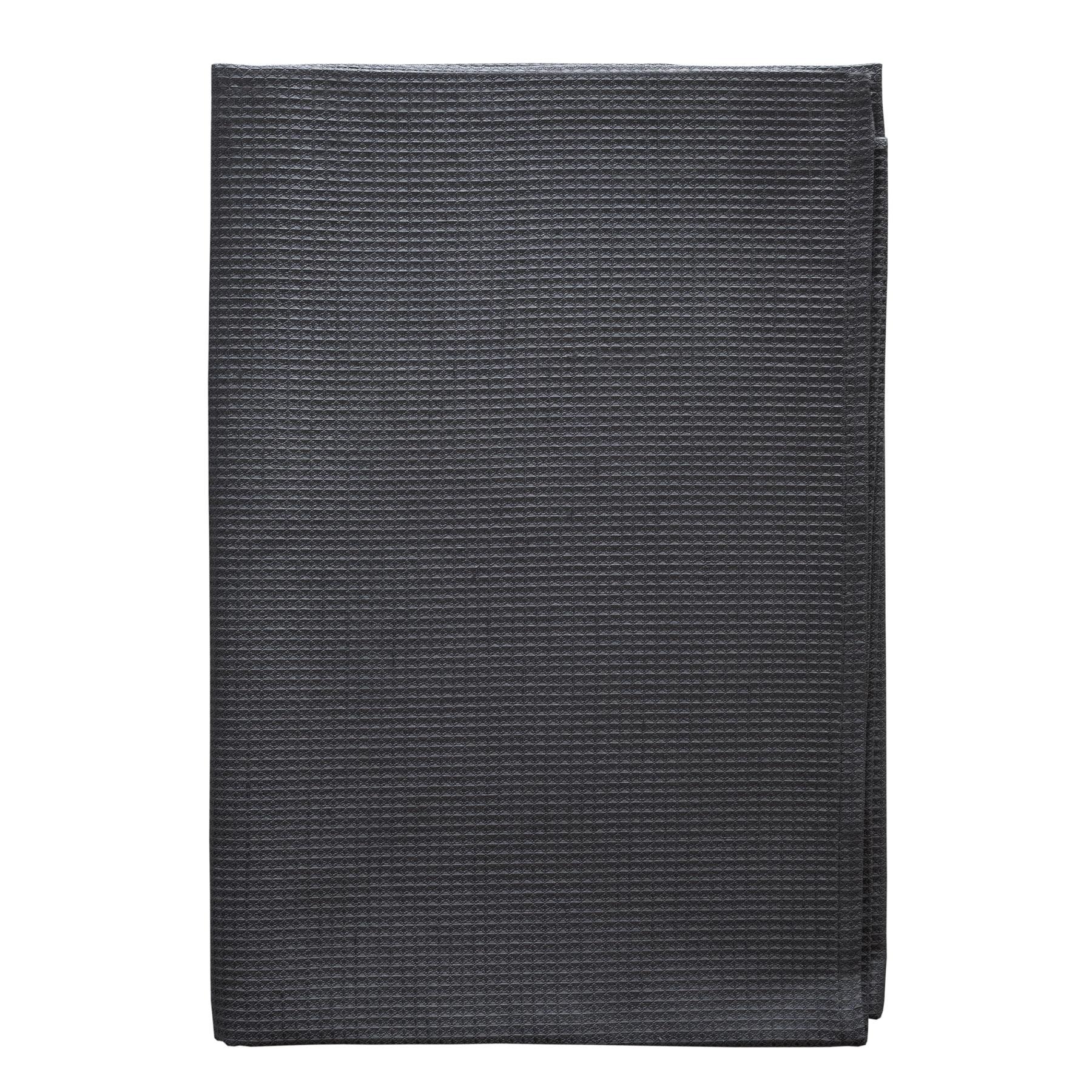 Bath Towel Soft Waffle Asphalt Gray